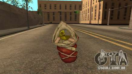 Flying baby Shrek semi-invisible para GTA San Andreas