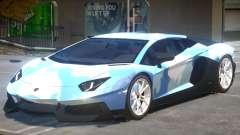 Lamborghini Aventador V2 PJ para GTA 4