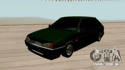 VAZ 2108 Verde matizado para GTA San Andreas
