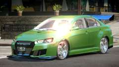 Mitsubishi Lancer X GT-R para GTA 4