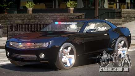 Chevrolet Camaro Police V1.1 para GTA 4