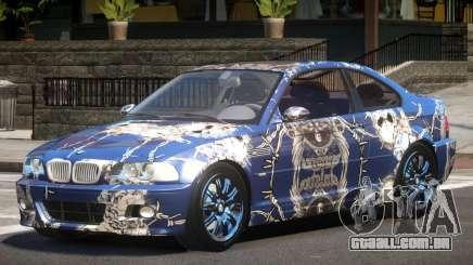 BMW M3 E46 GT PJ5 para GTA 4