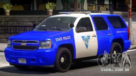 Chevrolet Tahoe Patrol V1.0 para GTA 4