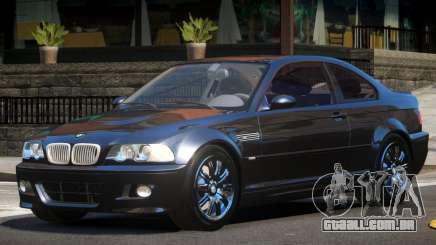 BMW M3 E46 GT para GTA 4