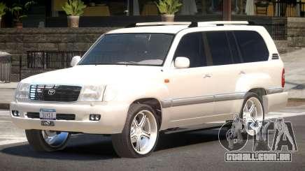 Toyota Land Cruiser 100 ST para GTA 4