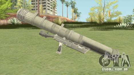 Heat-Seeking Rocket Launcher (HD) para GTA San Andreas