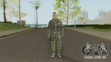 New Army Skin (HD) para GTA San Andreas