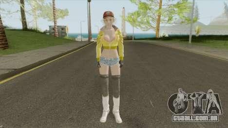 Cindy Aurum (Final Fantasy XV) para GTA San Andreas