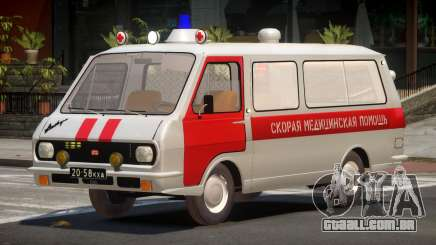 RAF 22031 Ambulance para GTA 4