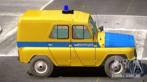 UAZ 469 Police para GTA 4