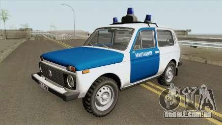 VAZ 2121 (Polícia) 1994 para GTA San Andreas