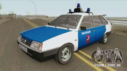 2109 (Polícia de Moscou) para GTA San Andreas