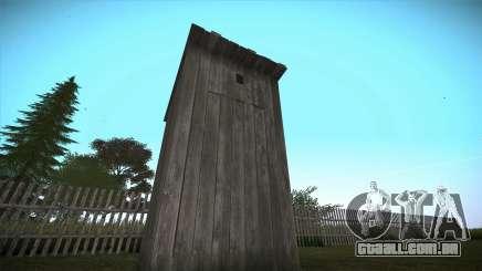 Rural wc para GTA San Andreas para GTA San Andreas