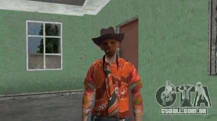 Nikolai Dobrynin (no papel de Mitya Buhangin) v. 4 para GTA San Andreas