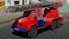 ZIL 131 (MCHS Bielorrússia) para GTA San Andreas