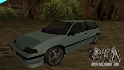 Honda Civic Hatchback 3 Gen (SA Style) para GTA San Andreas