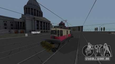 Bonde GS-4 CRTS de Limpeza para GTA San Andreas