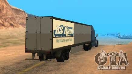 Trailer for Peterbilt 579 Sleeper (SA Style) para GTA San Andreas