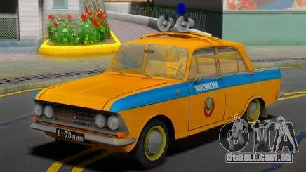 AZLK Moskvich 408 URSS Polícia para GTA San Andreas