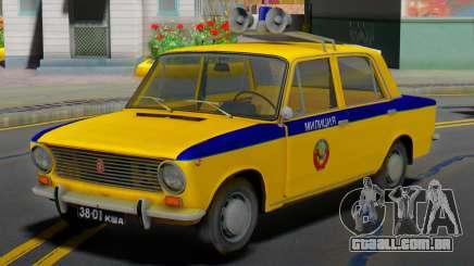 VAZ-2101 Soviética polícia para GTA San Andreas