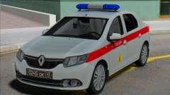 Renault Logan 2016 Guarda Russa para GTA San Andreas