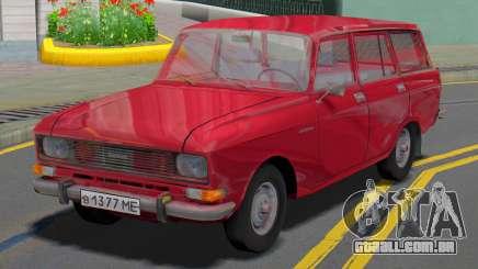 AZLK 2137 Vagão para GTA San Andreas