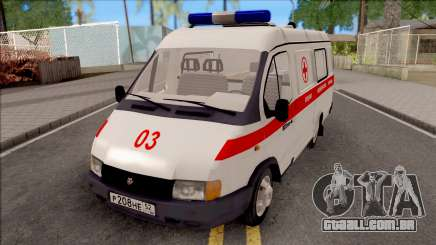32214 Gazela Ambulância para GTA San Andreas