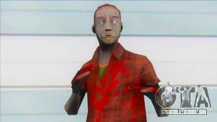 Zombie omost para GTA San Andreas