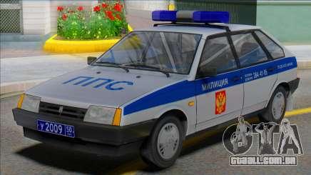 Vaz 2109 PPP 50RUS para GTA San Andreas