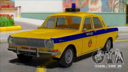 Gaz-24 Volga Polícia de Trânsito da URSS para GTA San Andreas