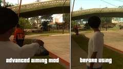 Advanced Aiming Mod v1.4 para GTA San Andreas