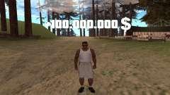 Mais $100.000.000 e limpe a busca para GTA San Andreas