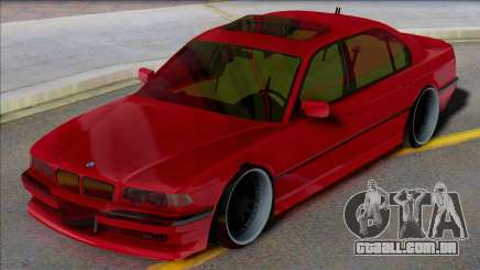 BMW E38 7 series para GTA San Andreas