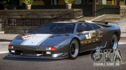 Lamborghini Diablo Super Veloce L3 para GTA 4
