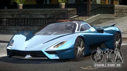 Shelby Super Cars Tuatara para GTA 4