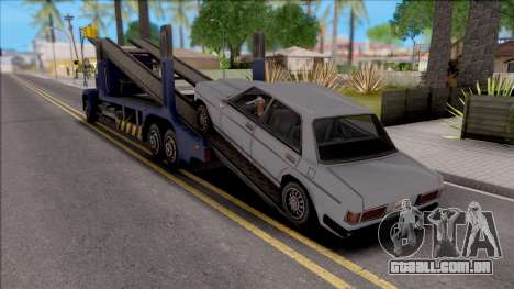 Attach Vehicles to Packer para GTA San Andreas