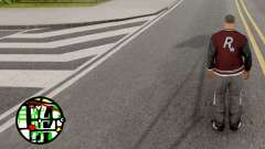 Hide Gang Zone Colors para GTA San Andreas