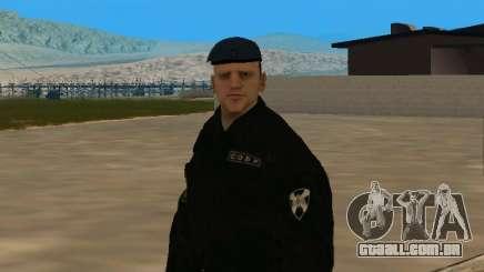 Funcionário da pele soluço para GTA San Andreas