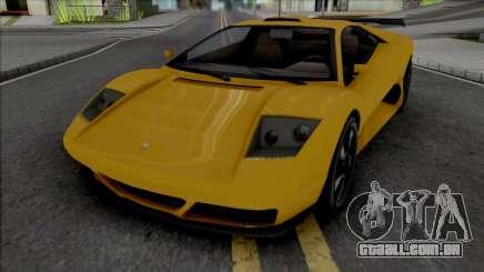 GTA V Pegassi Infernus Restructured para GTA San Andreas