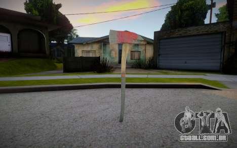 Fire Axe from Ravaged para GTA San Andreas