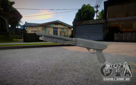 GTA IV Pump Shotgun para GTA San Andreas