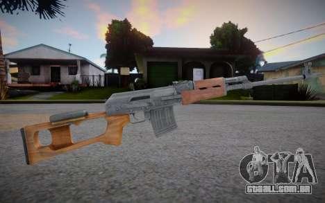 Vepr Sport Rifle para GTA San Andreas