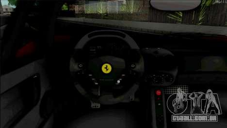 Ferrari Enzo 2002 Custom para GTA San Andreas