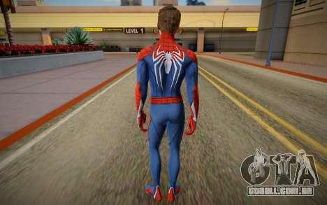 Spider Man PS5 Advanced unmasked Ben Jordan para GTA San Andreas