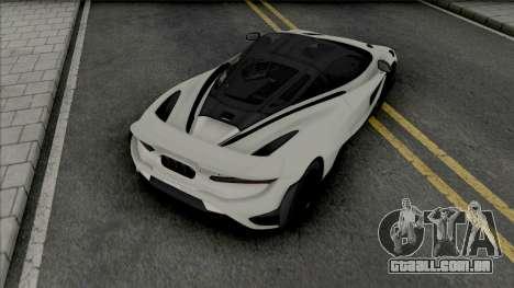 McLaren 765LT 2020 para GTA San Andreas