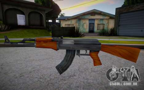 AK-47 from Counter Strike para GTA San Andreas