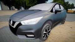 Nissan Versa 2020 (interior lowpoly) para GTA San Andreas