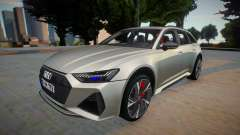 Audi RS6 2020 Silver Style