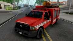 Ford F4000 Fire Brigade para GTA San Andreas