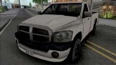 Dodge Ram 2500 2008 Improved para GTA San Andreas